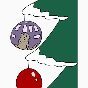 Gerbil Tree Bauble Ball by hybridwing