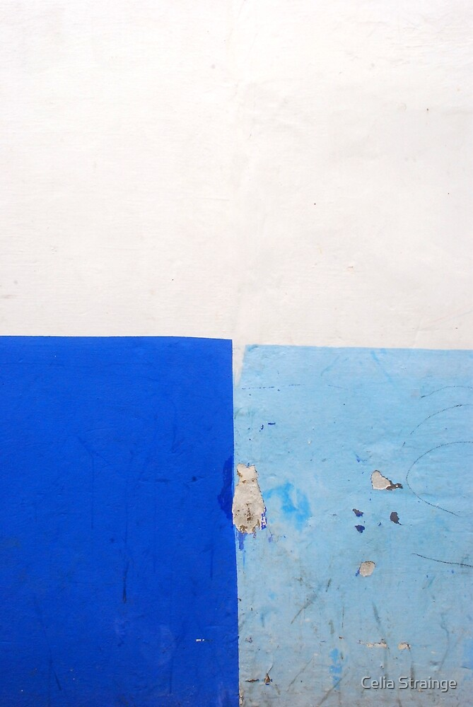 Wall Abstract - 1 by Celia Strainge