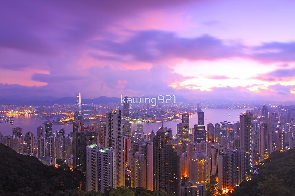 Hong Kong morning  by kawing921