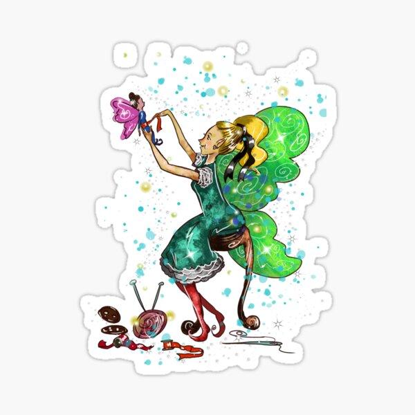 Fabiana The Handmade Fairy Doll Fairy™️ Sticker