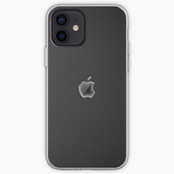 Fibre de carbone Coque souple iPhone