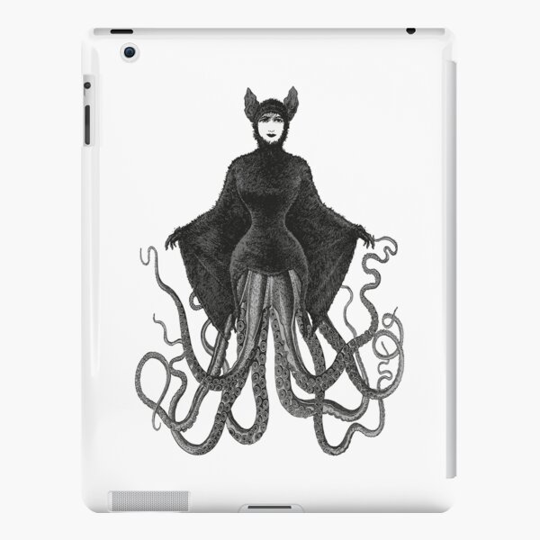 Hybrid Octopus Bat Woman | Hybrids | Hybrid Creatures | iPad Snap Case