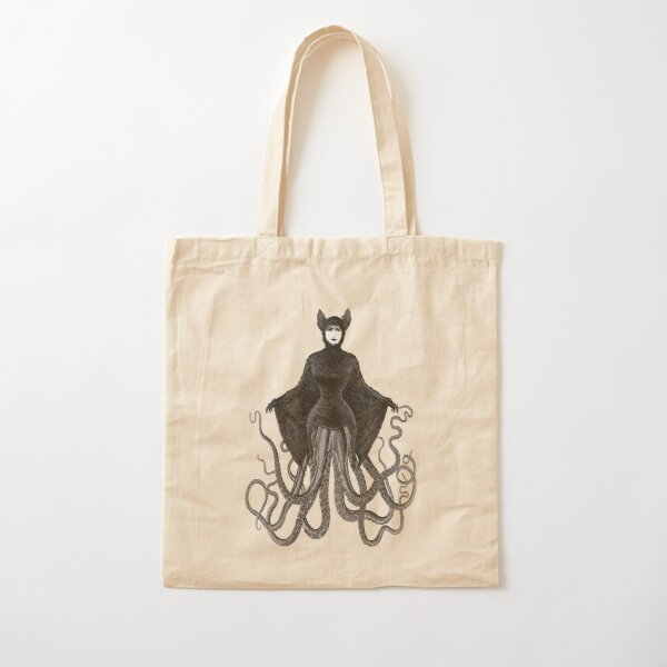 Hybrid Octopus Bat Woman   Hybrids   Hybrid Creatures   Cotton Tote Bag