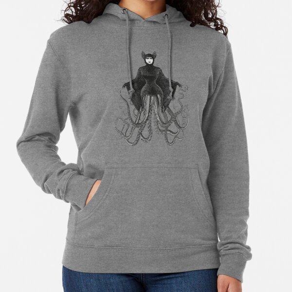 Hybrid Octopus Bat Woman | Hybrids | Hybrid Creatures | Lightweight Hoodie