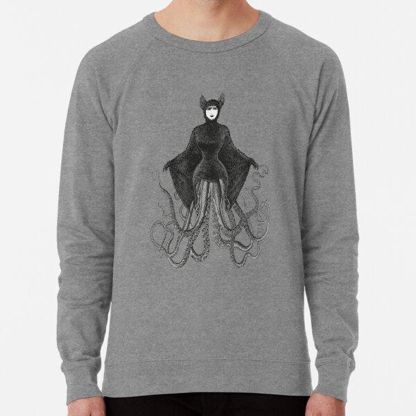 Hybrid Octopus Bat Woman | Hybrids | Hybrid Creatures | Lightweight Sweatshirt