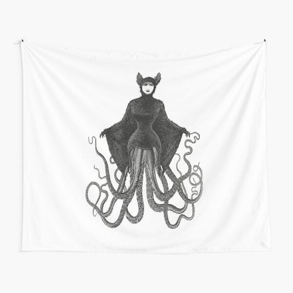 Hybrid Octopus Bat Woman | Hybrids | Hybrid Creatures | Tapestry