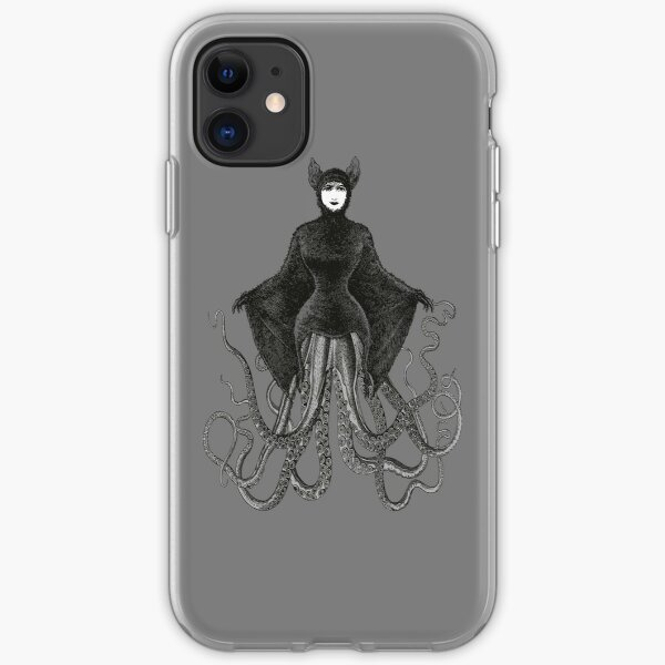 Hybrid Octopus Bat Woman | Hybrids | Hybrid Creatures | iPhone Soft Case