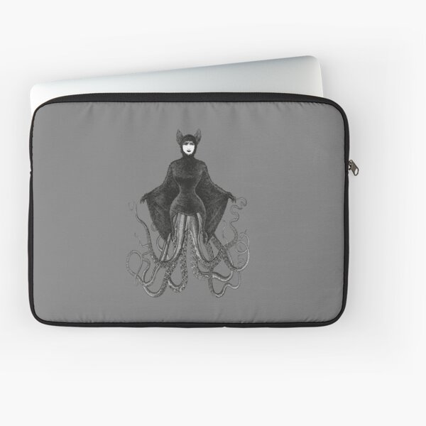 Hybrid Octopus Bat Woman | Hybrids | Hybrid Creatures | Laptop Sleeve
