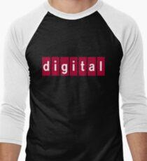 Digital Equipment Corporation Men's Baseball ¾ T-Shirt