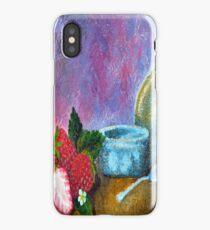 Garden Strawberry iPhone Case