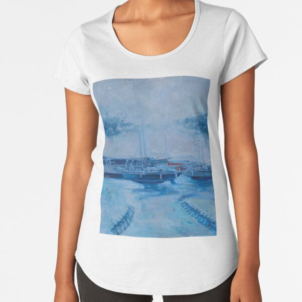 Pikesley Beach II Premium Scoop T-Shirt