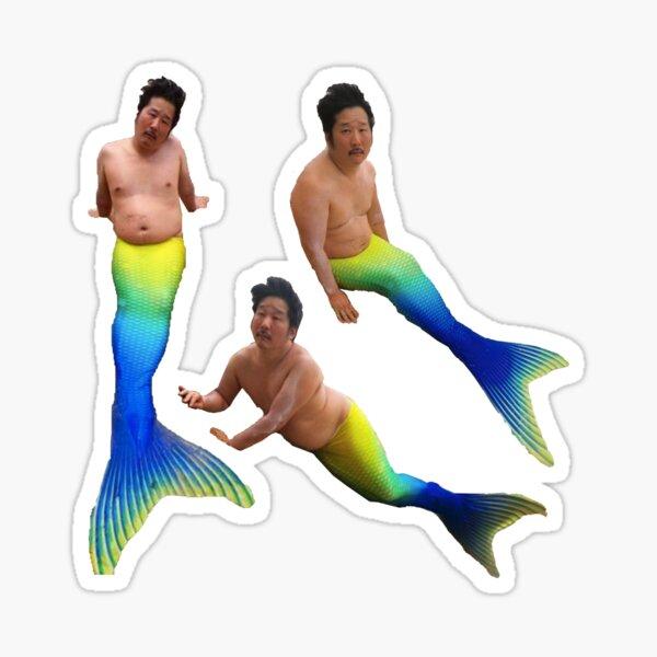Mermaid Bobby Lee Original Sticker