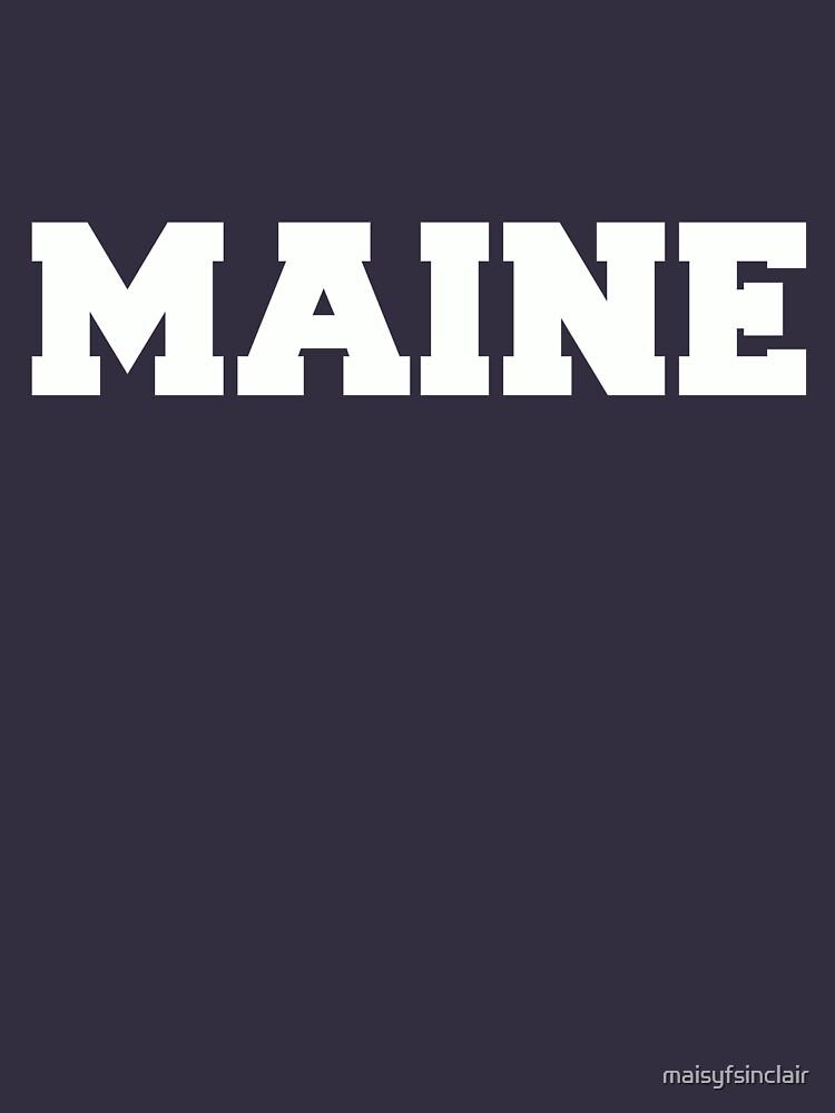 Calum Hood Maine T-shirt by maisyfsinclair