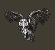 Skeletowl BW | Unisex T-Shirt