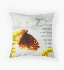 Don't allow-inspirational Throw Pillow
