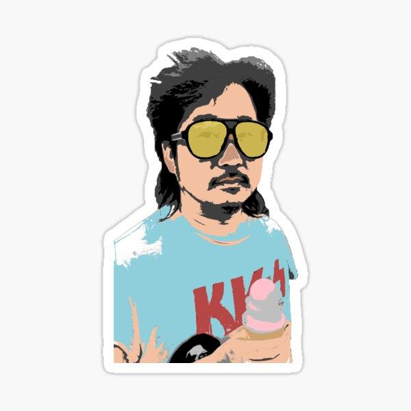Animated Bobby Lee Art Sticker