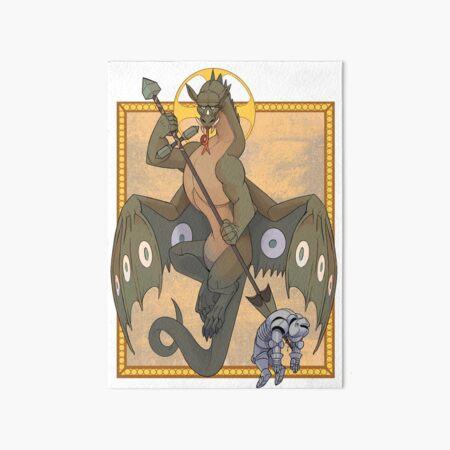 Saint Draco and the George Art Board Print