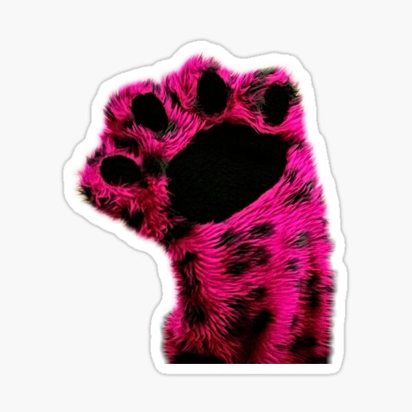 Wump Mucket Puppets Kitty Quo Quo Quo Qua  merchandise Sticker