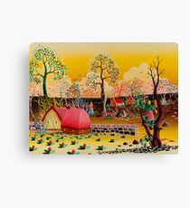 WORK IN THE FIELDS Canvas Print