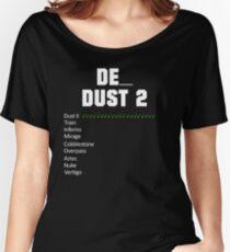 de_dust2 Vote | White Women's Relaxed Fit T-Shirt
