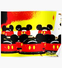 Pop Art Mickey Poster