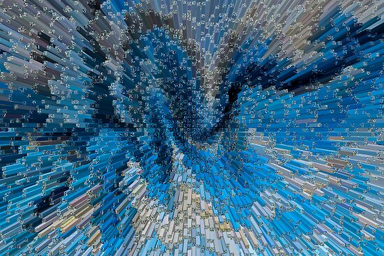 Art Abstract 3D by DavidHornchurch
