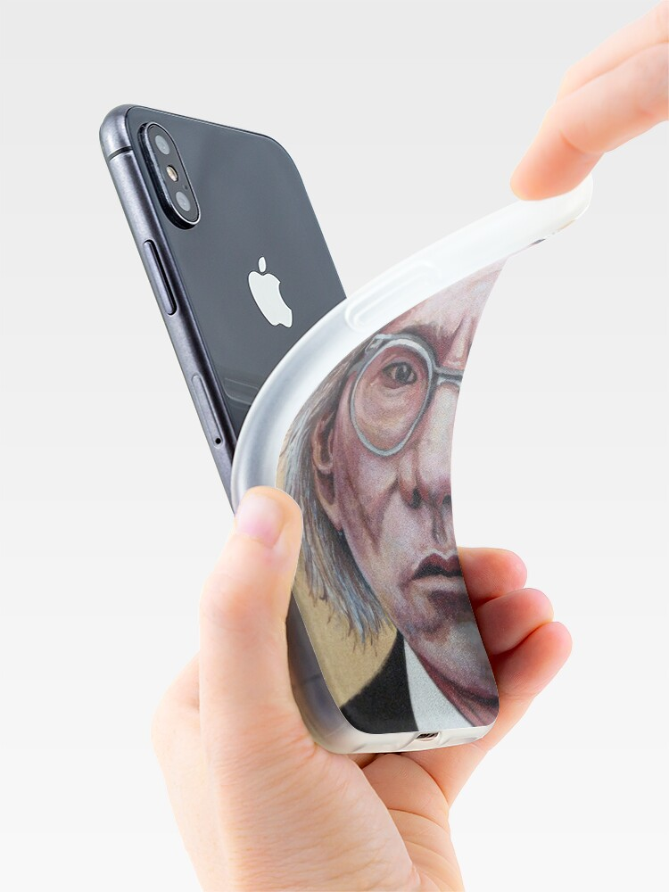 Alternate view of Mr. Warhol iPhone Case