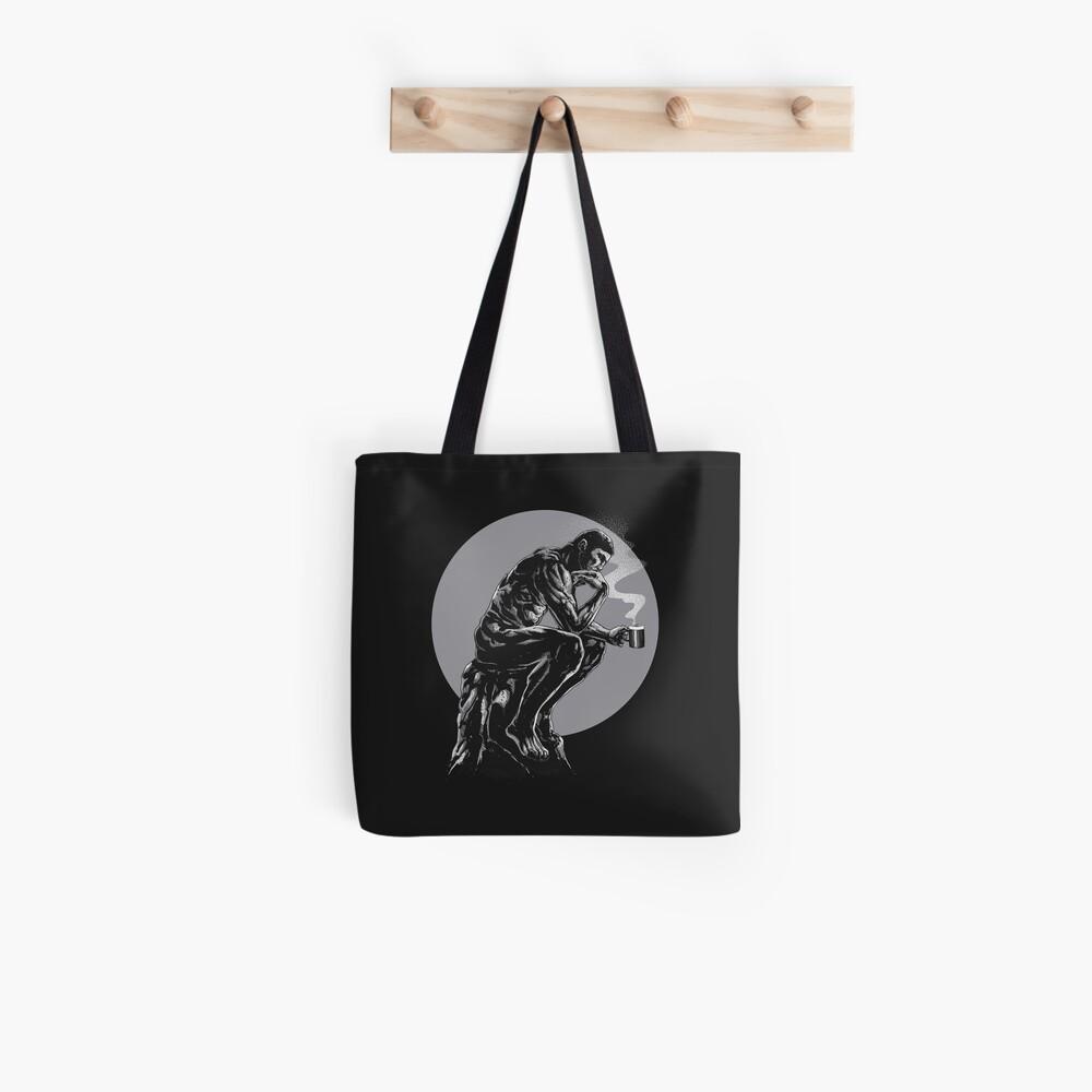The thinker coffee Tote Bag