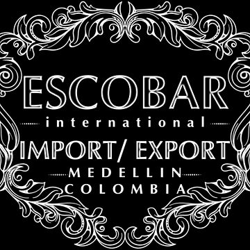 Escobar Import and Export White Glow by Rickmans