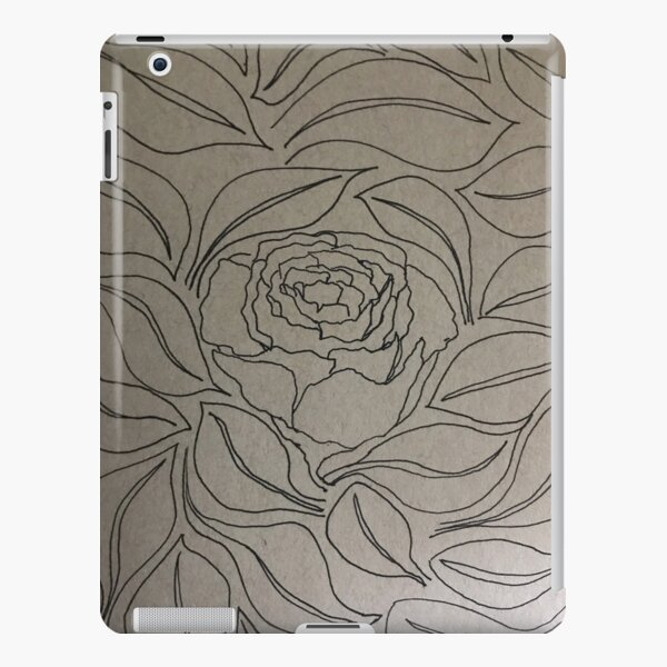 Petals and Leaves iPad Snap Case