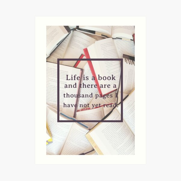 Clockwork Angel/Books Art Print