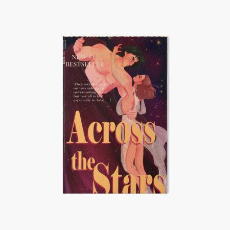 Reylo Romance Novel Cover Art Board Print