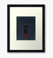 Sin City (Vintage) Framed Print