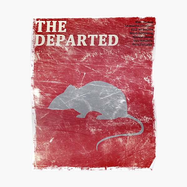 The Departed (Vintage) Poster