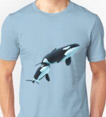 Killer Whales Kiska and Ike Slim Fit T-Shirt