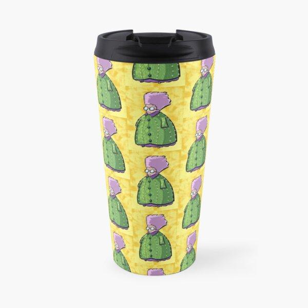 Cactus Granny Travel Mug