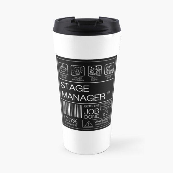 Stage Manager Label  Travel Mug