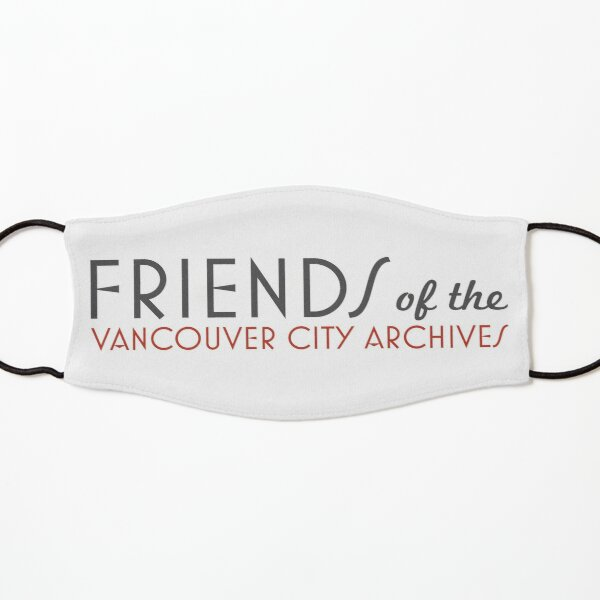 Friends of the Vancouver City Archives logo Kids Mask