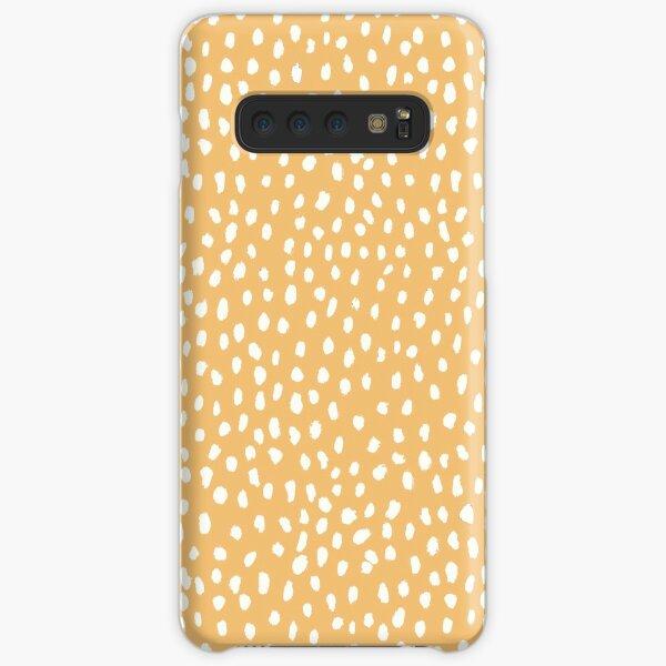 Yellow Dalmatian Print Samsung Galaxy Snap Case