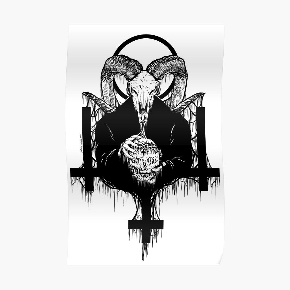 Satan Gets Ahead Poster