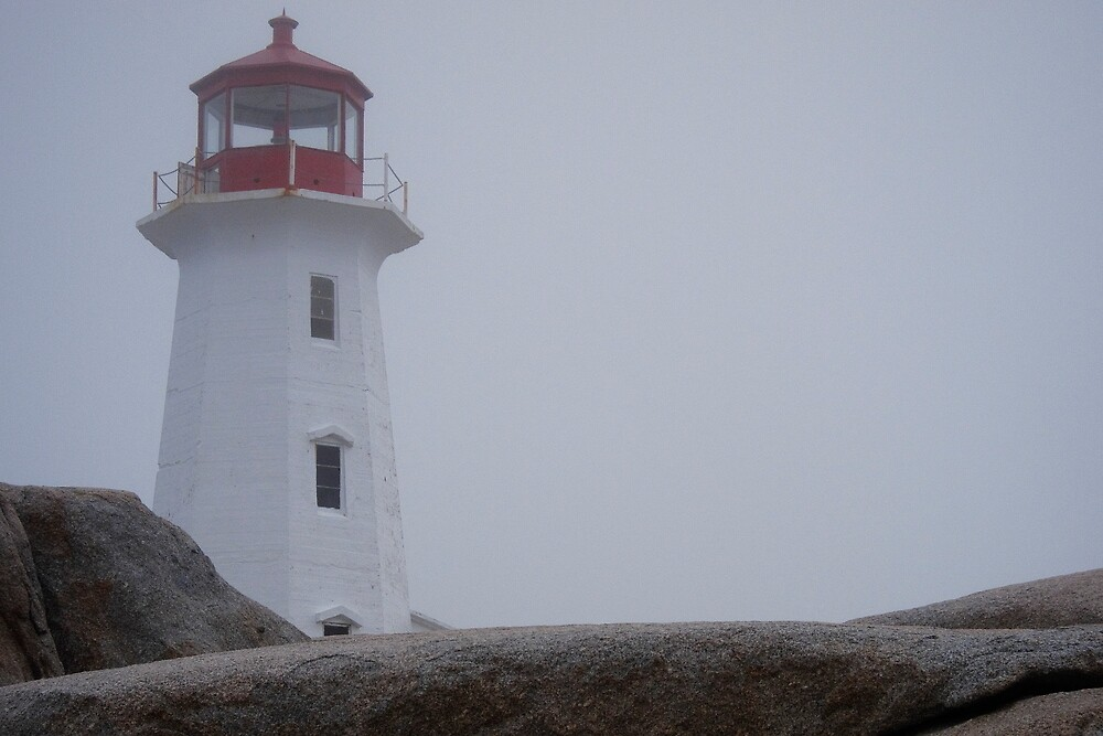 Peggys Point Lighthouse by Alinka