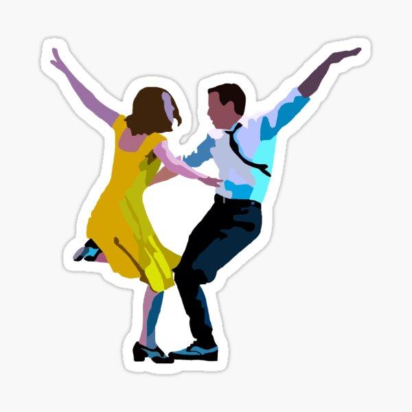 Lala Land Dance  Sticker