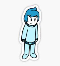 Obie Pajamas  Sticker