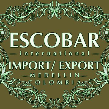 Escobar Import and Export White Mint Glow by Rickmans