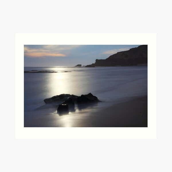 Sorrento beach Art Print