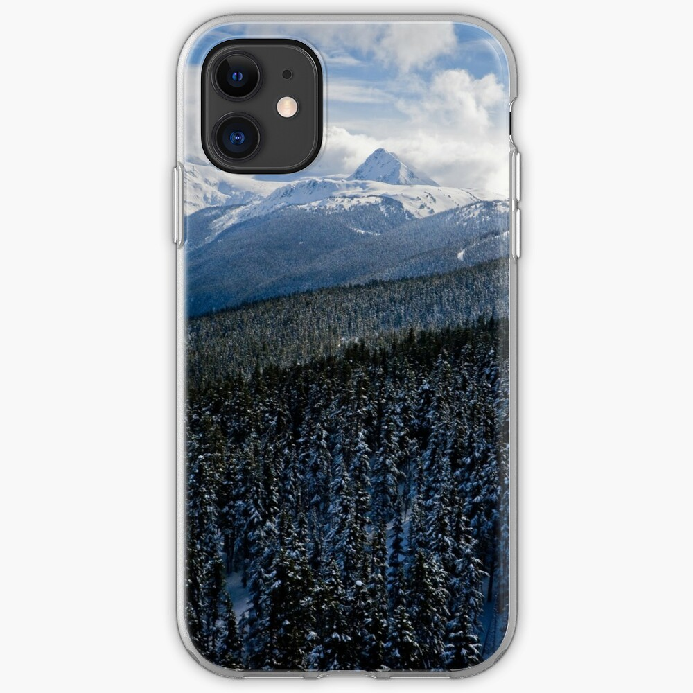 View from Whistler Mountain iPhone Case & Cover