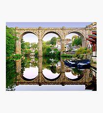 Knaresborough Reflections Photographic Print