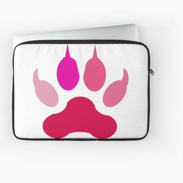 The Pink Paw Laptop Sleeve