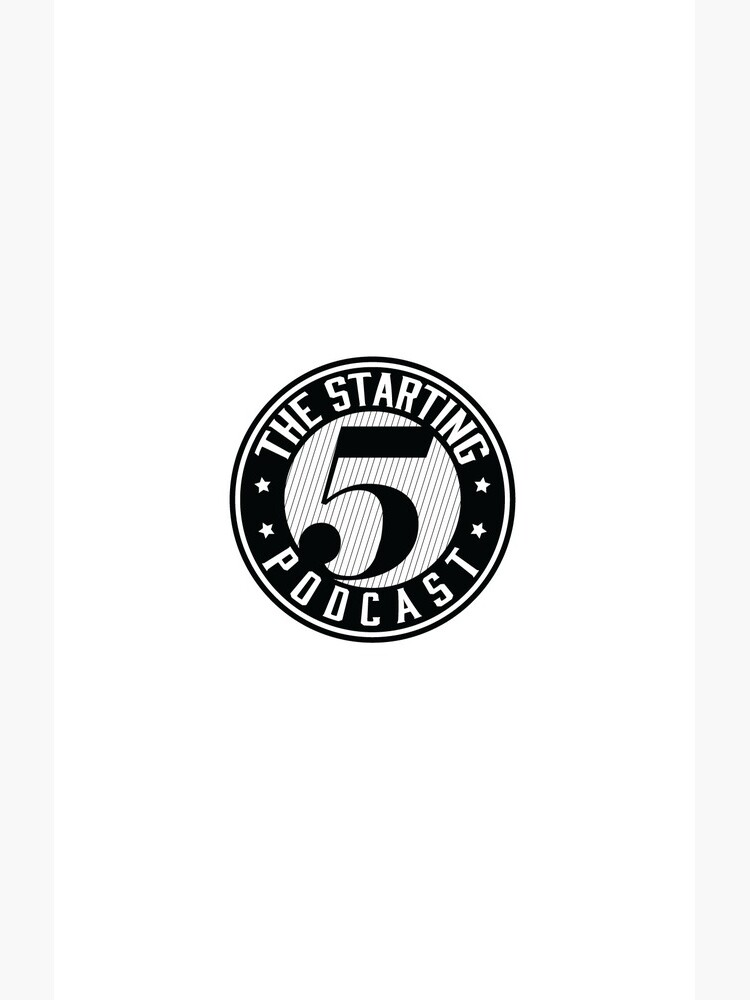 THE STARTING 5 LOGO by THESTARTING5POD