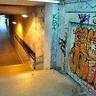 Stinky stairs by Lukasz Godlewski
